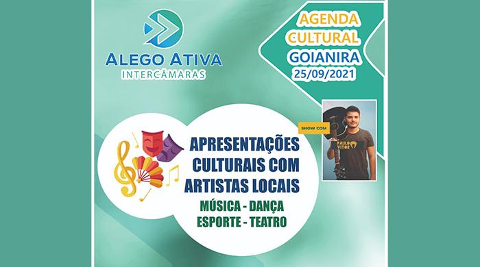 A prefeitura de Goianira, em parceria com Assembleia Legislativa do Estado Goiás, realizarão no próximo dia (25), o Programa ALEGO ATIVA, no Lago Municipal Umberto Donato Ialacci